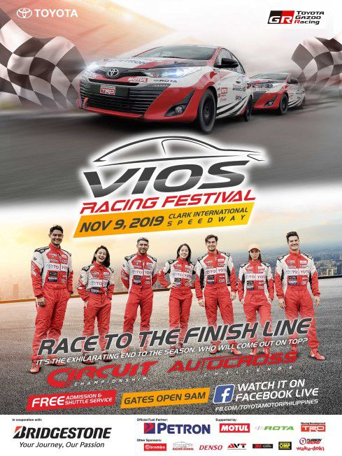 The Climax of Toyota Vios Racing Festival is happening this Saturday