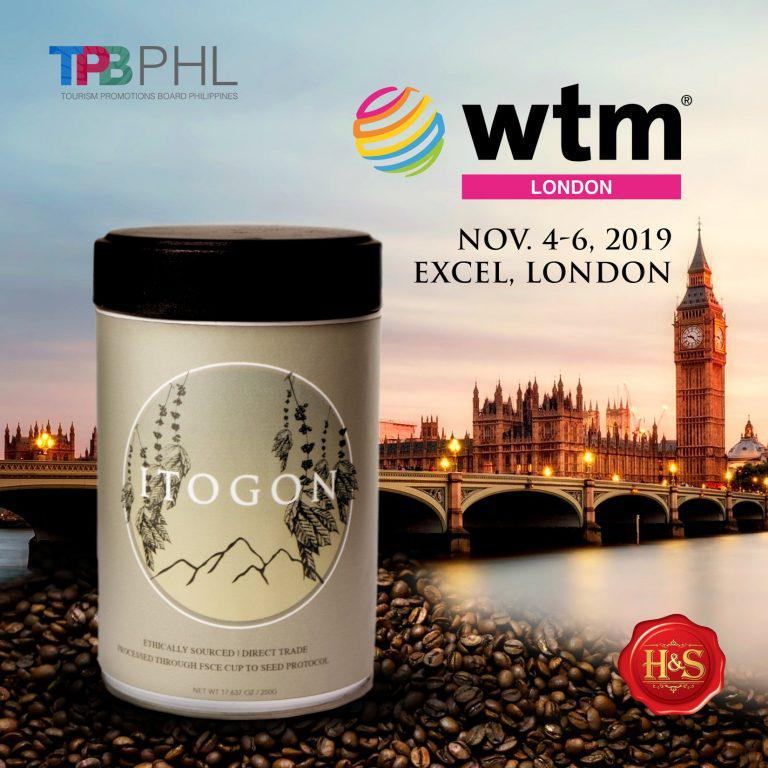 Itogon Coffee debuts at the World Trade Market in London