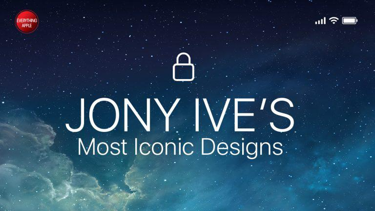 Everything Apple: Jony Ive's most iconic designs