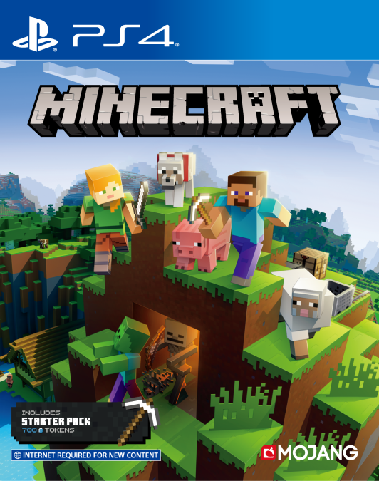 Minecraft Starter Collection disc for PS4 is set for release in January 2020