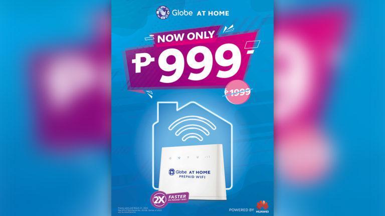 Globe discounts home prepaid devices