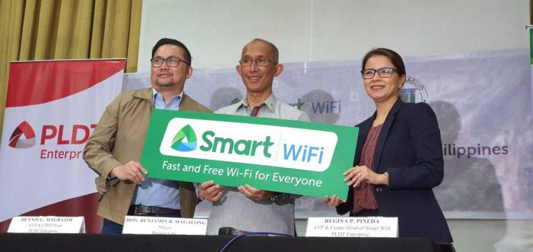 PLDT expands Smart WiFi in Baguio