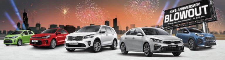 Kia Philippines celebrates first year with Anniversary Blowout Promo