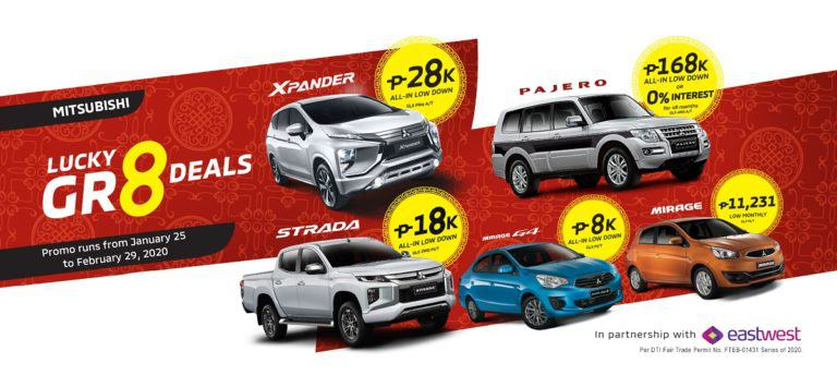 Score lucky great deals with Mitsubishi
