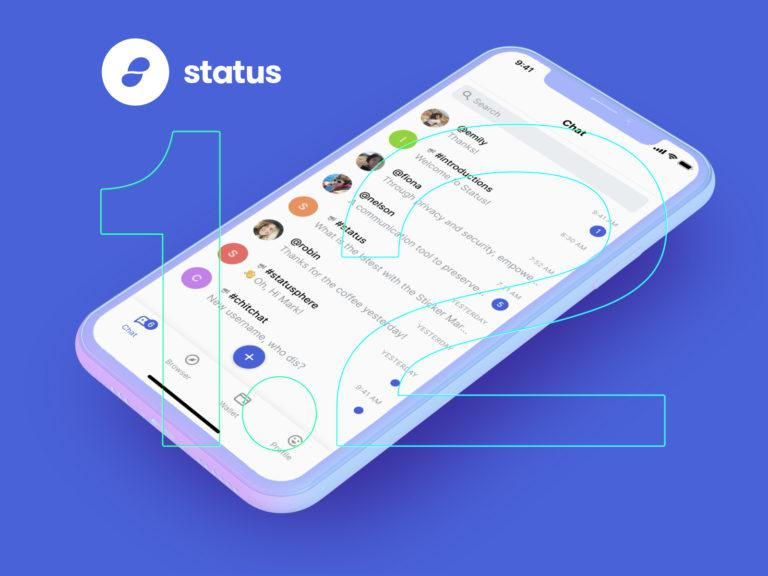 Try the new Status app—it's a secure messenger, crypto-wallet, and browser