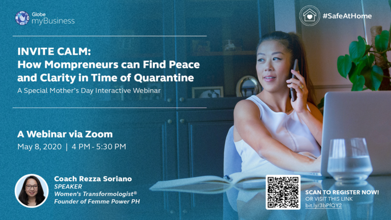 Globe myBusiness invites  mompreneurs to sign up for special Mother's Day webinar