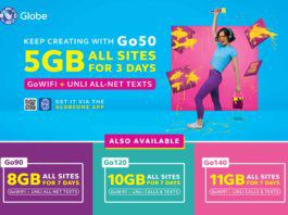 Globe Go promo