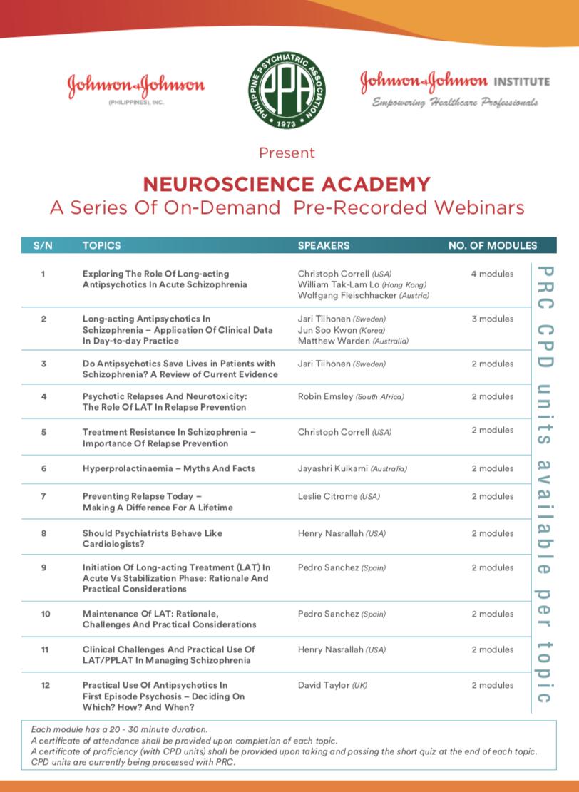 JJPI Neuroscience Academy