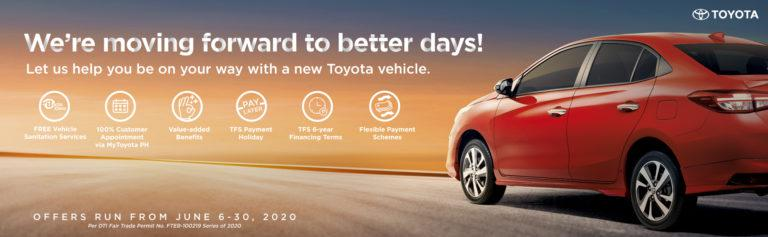 Toyota extends Better Days Ahead promo