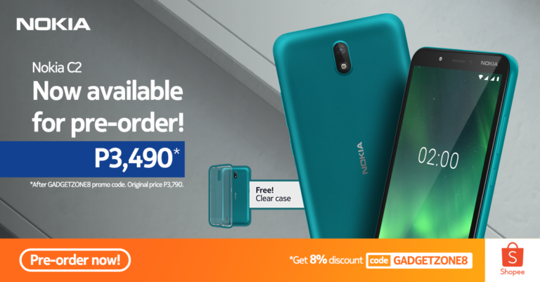 Nokia C2 coming to Shopee 6.6 Super Flash Sale
