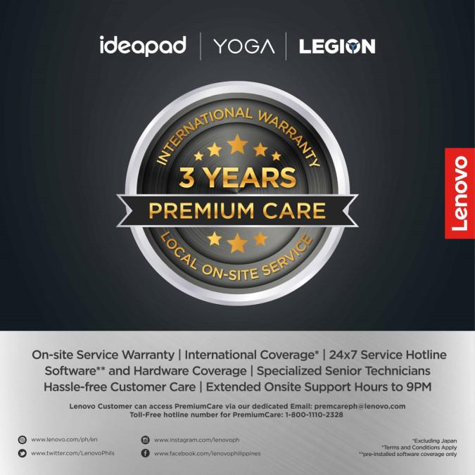 Lenovo unveils 3-year premium care service to mitigate warranty issues during the pandemic