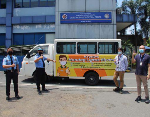 Hyundai modern jeepney