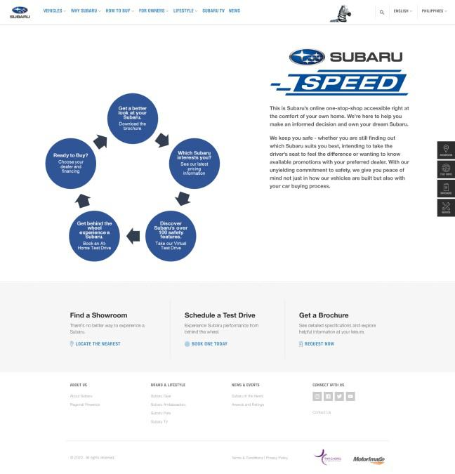 Subaru launches one-stop-shop online platform