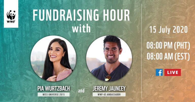 On July 15, 'Power Couple' Pia Wurtzbach and Jeremy Jauncey will raise funds for environmental frontliner communities