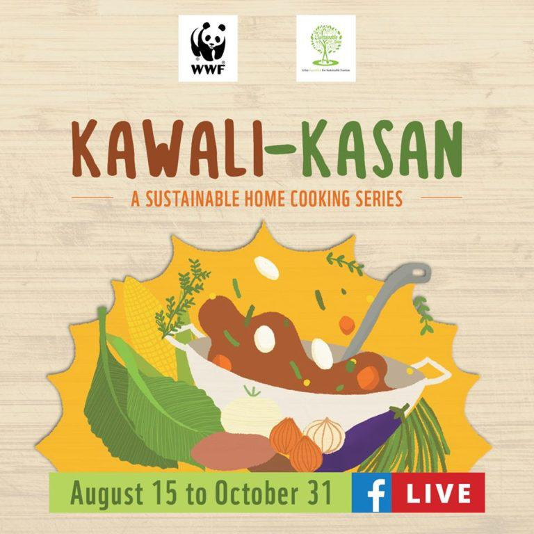 Learn sustainable cooking with the WWF-PH Kawali-Kasan series