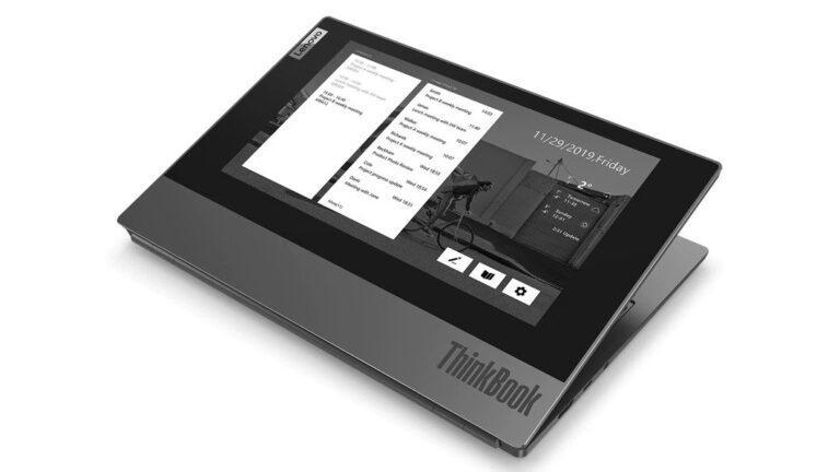 Lenovo introduces new dual-screen ThinkBook Plus