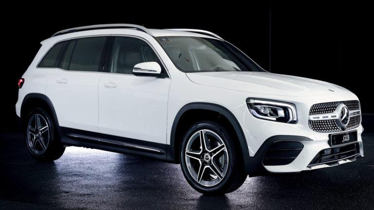 Mercedes-Benz premieres the all-new GLB 7-seater compact SUV