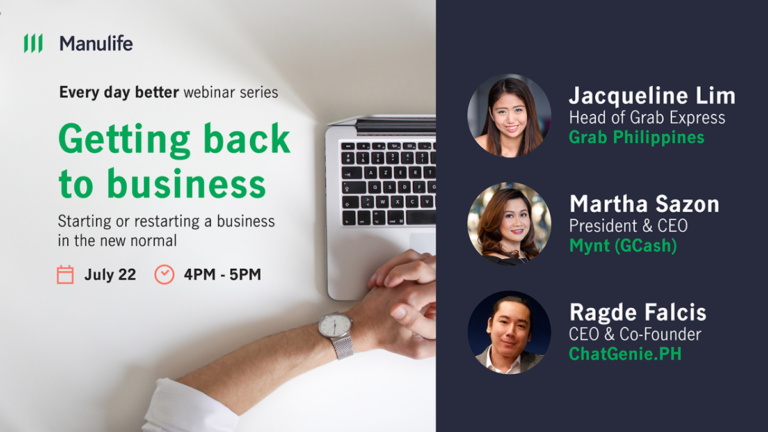 Manulife PH hosts webinar on how SMEs can thrive post-pandemic