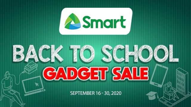 Smart's Back-to-School Gadget Sale helps teachers and parents with online learning