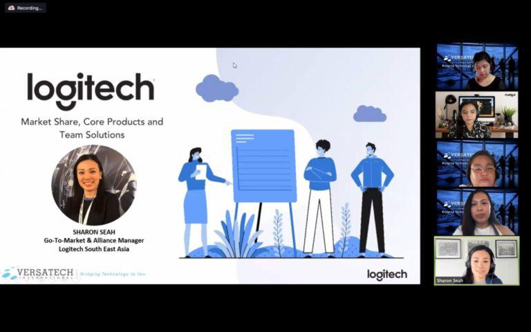 Versatech is now the official distributor for Logitech video collaboration tools