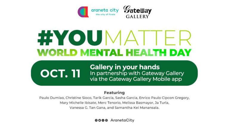 Artists join Araneta City's #YouMatter campaign via Gateway Gallery Pocket Museum