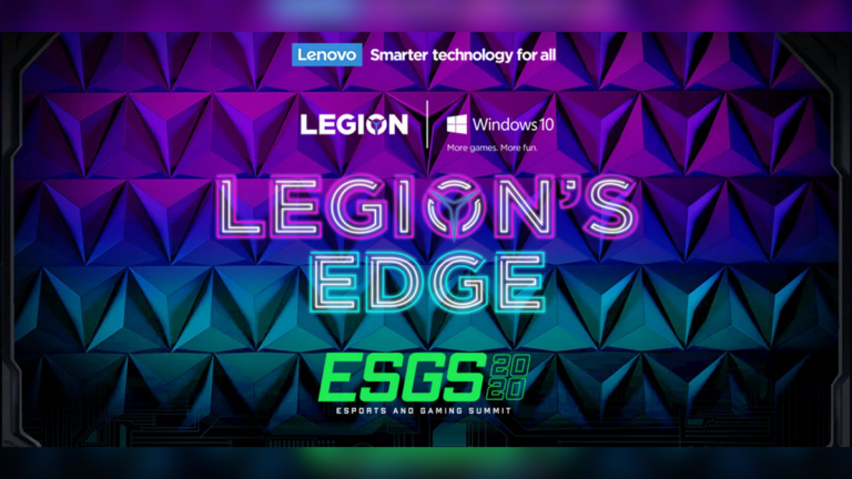 Lenovo launches Legion Slim 7i at ESGS 2020