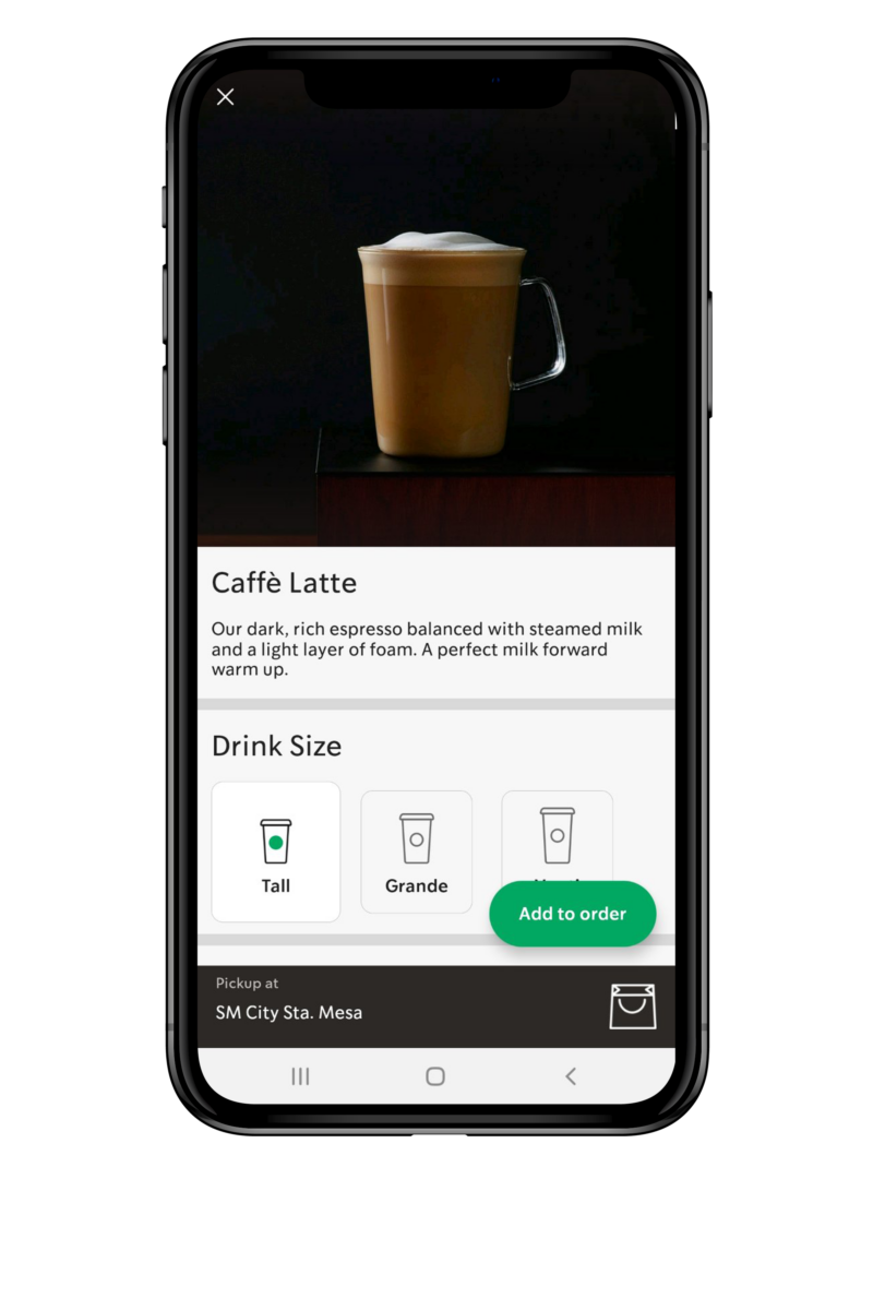 Starbucks Mobile Order & Pay