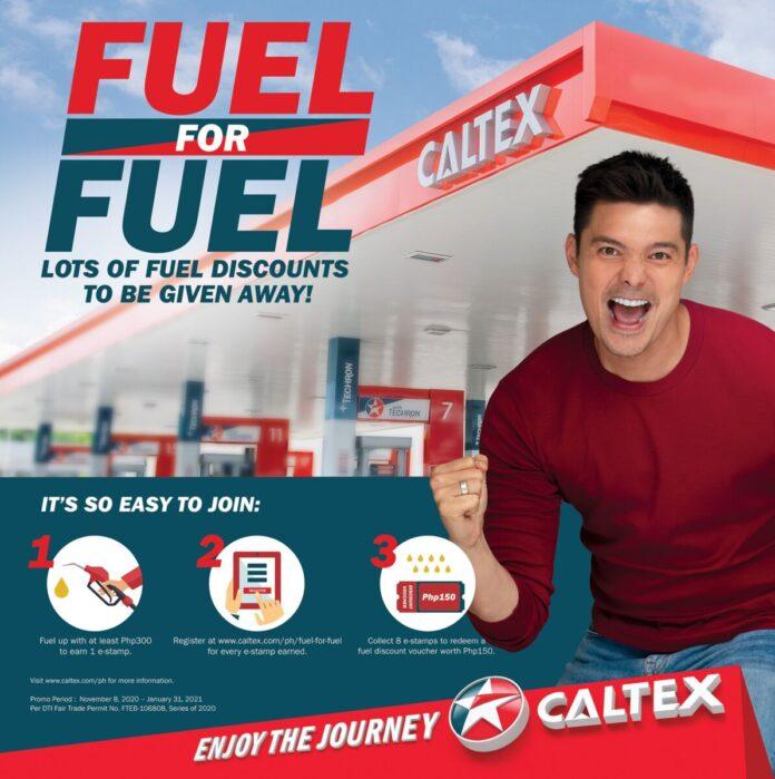 Caltex Fuel for Fuel promo