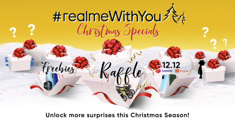Huge prizes and exciting promos on #realmeWithYou Christmas Specials