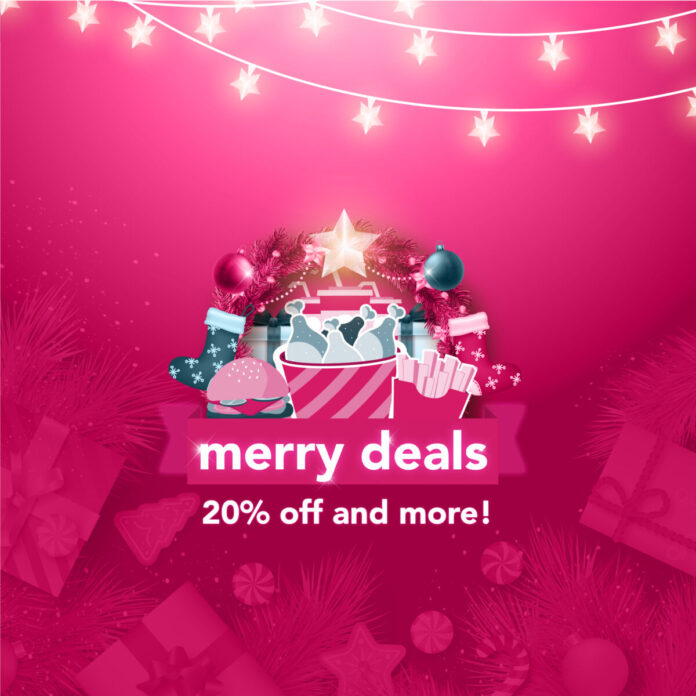 foodpanda's Merriest Deals Promo