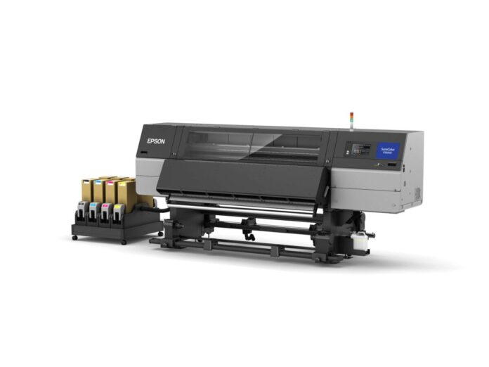 Epson launches first 76-inch Industrial Dye Sublimation Textile Printer