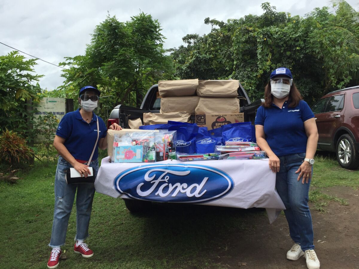 Ford Philippines turns to virtual activities to celebrate Global Caring Month