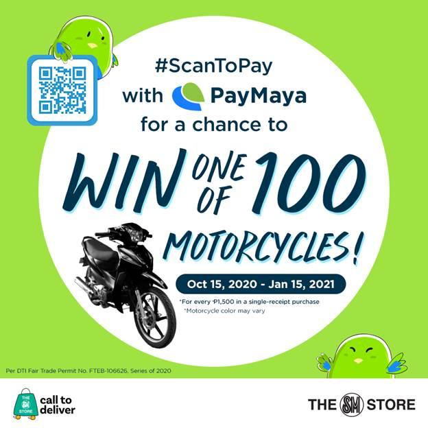 PayMaya QR at The SM Store