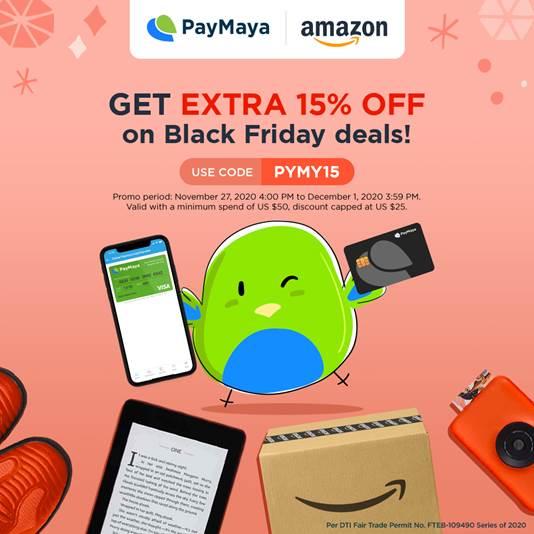 PayMaya teams up with Amazon.com