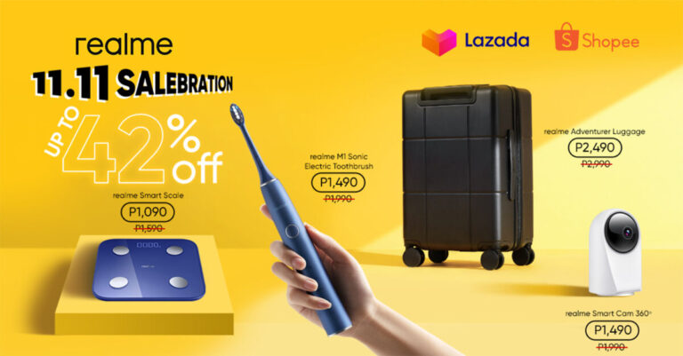 realme PH launches new smart home devices—up to 42% off on 11.11 sale!