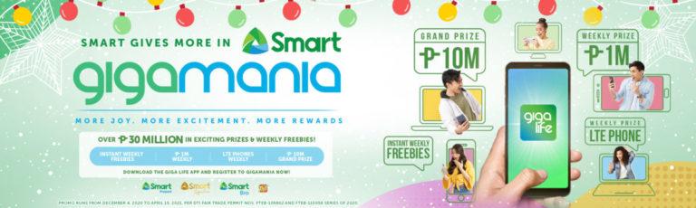 Smart GIGAMANIA celebrates the Season of Giving