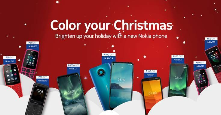 Celebrate Christmas with exciting Nokia phone promos