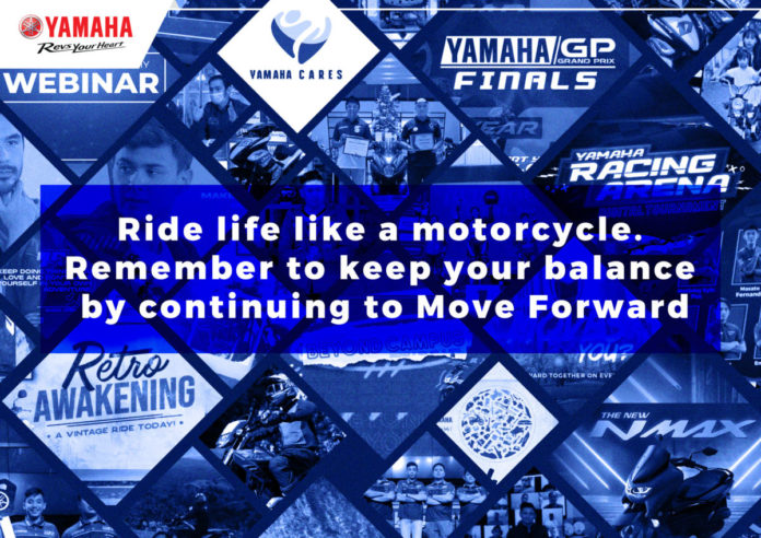 Yamaha moving forward