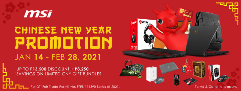 MSI laptop deals to kick off the Year of the Ox