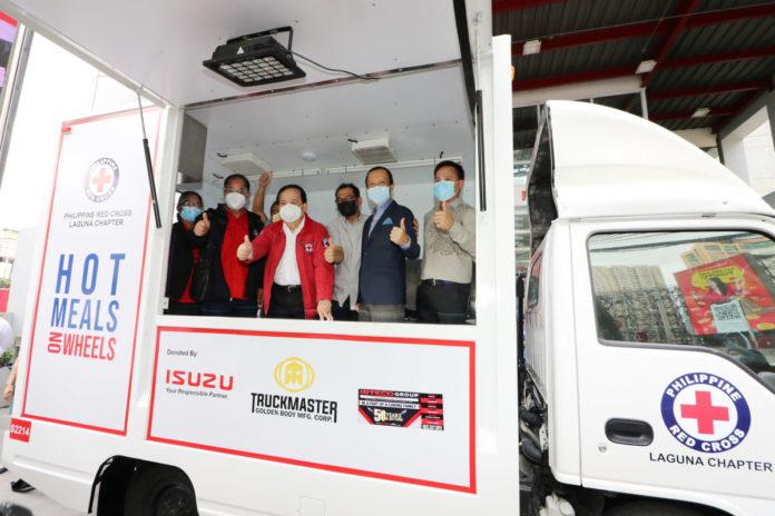 Isuzu Mobile Kitchen