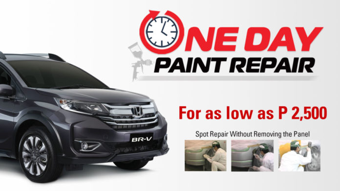 One Day Paint Repair