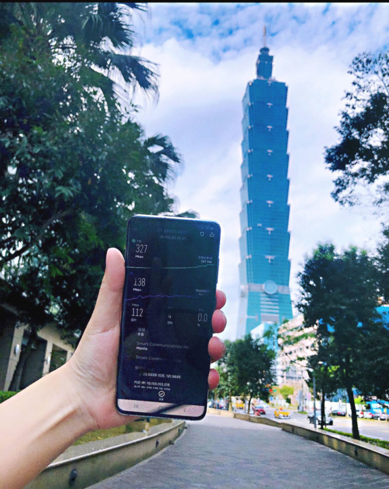 Smart 5G roaming service now available in Taiwan