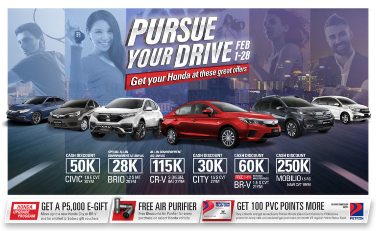 Mobilio discount up to 250K in Honda February promo