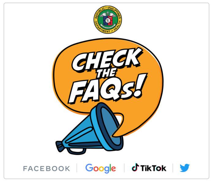 #ChecktheFAQs