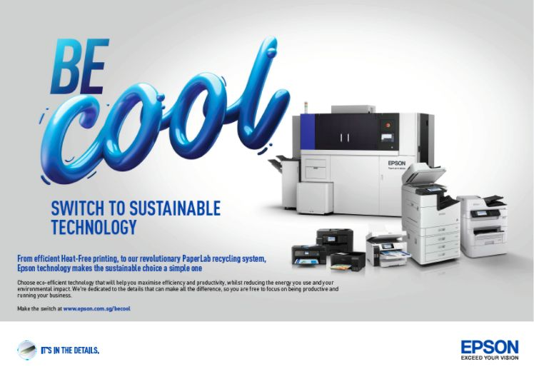 """Epson launches """"Be Cool"""" printer sustainability campaign"""