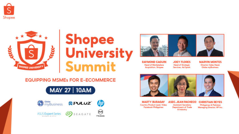 First Shopee University Summit for MSMEs set for May 27; register to attend