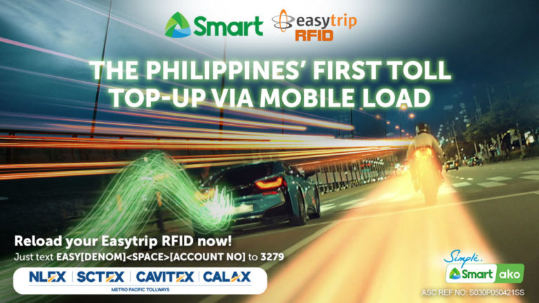 First toll top-up via mobile load in PH through Smart-MPTC partnership