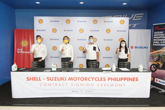 Suzuki x Shell