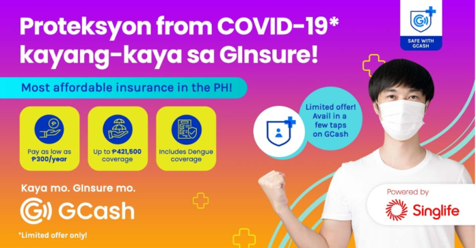 GCash free insurance
