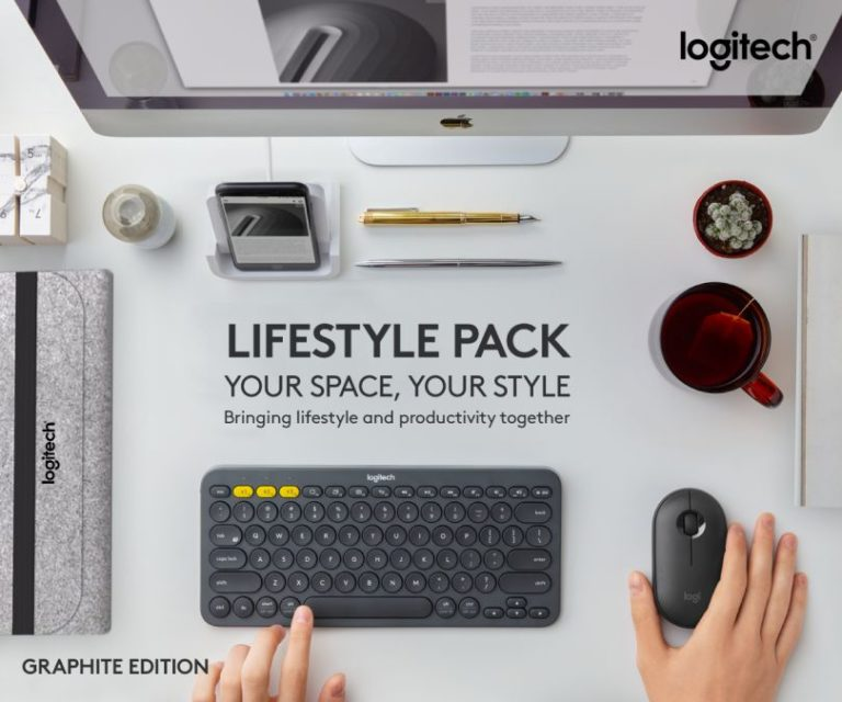 Take productivity everywhere you go with Logitech's new K380 and M350 productivity bundles